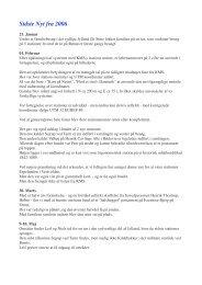 Sidste Nyt fra 2006 - Postamentet