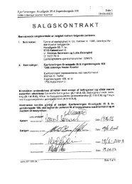 salgskontrakt - Ejerforeningen EF1386
