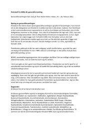 Protokoll fra NRRs 49 Generalforsamling