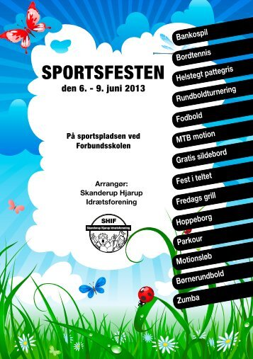 SportSfeSten - Hjarup Kirke - Vamdrup