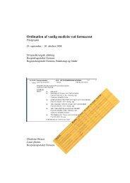 ordination af vanlig medicin ved farmaceut.pdf (62,65 KB) - SAMnet
