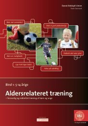 Aldersrelateret træning (5-14 årige) - DBU