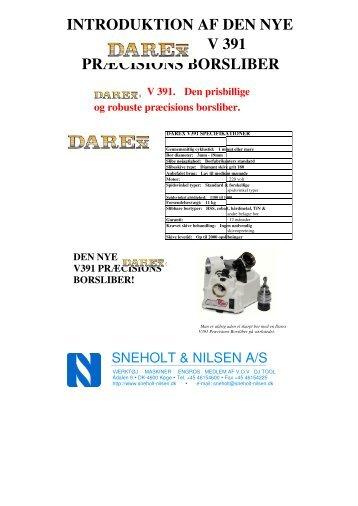 Darex V391 brochure - sneholt-nilsen.dk