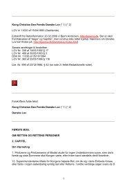 Kong Christian Den Femtis Danske Lov (* 1) (* 2) LOV nr 11000 af ...