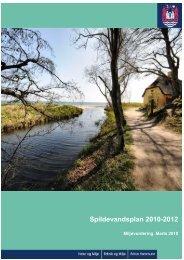 Miljøvurdering af Spildevandsplan 2010-2012 (åbner ... - Aarhus.dk