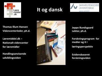It og dansk - Læremiddel.dk