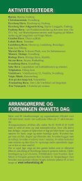 aktivitetssteder arrangørerne og foreningen øhavets dag - Faaborg ...