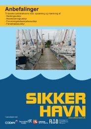 Sikker Havn anbefalinger - Børneulykkesfonden