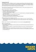 Sikker Havn anbefalinger - Børneulykkesfonden - Page 7