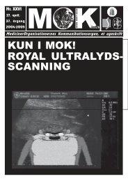 KUN I MOK! ROYAL ULTRALYDS- SCANNING