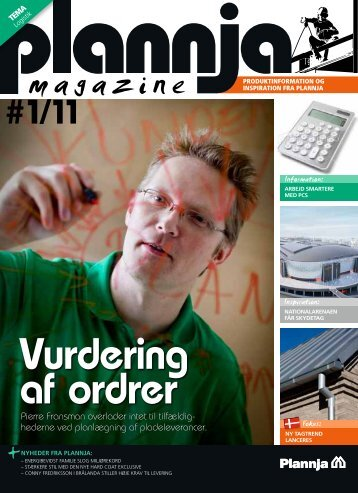 Plannja Magazine #1 2011