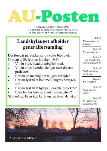 AU-Posten - Avnbøl-Ullerup Landsbylaug