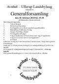 AU-Posten - Avnbøl-Ullerup Landsbylaug - Page 6