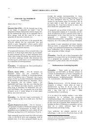 MØDET TIRSDAG DEN 3. JUNI 2003 - Europa
