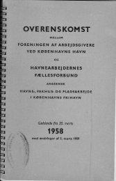 overenskomst år 1958 - Havnearbejdernes Klub af 1980