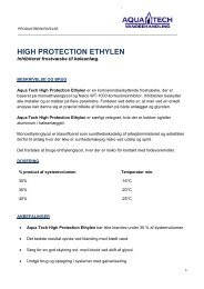 HIGH PROTECTION ETHYLEN - Aquatech-vandbehandling.dk