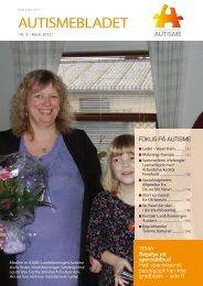 Medlemsblad nr. 3, 2012 - Landsforeningen Autisme