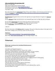 Felles notatblokk for Dei gode døma 2010 Dato: 8 ... - Guttorm Hveem