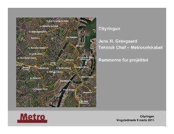 Cityringen - ATV Jord og Grundvand