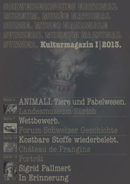 Kulturmagazin 1/2013