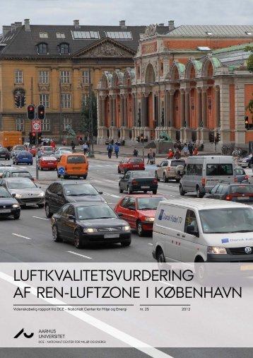 Luftkvalitetsvurdering af ren-luftzone i København