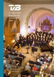 Public Service-redegørelse 2008 - TV2 Bornholm