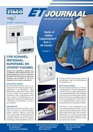 ET Journaal nr 1 - Schneider Electric