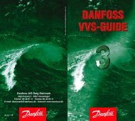 Danfoss A/S | VVS-guiden - Danfoss Varme - Danfoss A/S