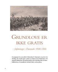 Grundlove er ikke gratis - forfatninger i Danmark 1848 ... - Siden Saxo
