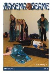 Efterår 2011 nr. 2 - Efter træning !!! - Ørkenroserne