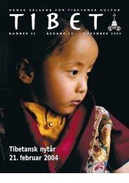 Tibet 55, 2003 - Dansk Selskab for Tibetansk Kultur