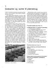 Græsarter og -sorter til plænebrug - Turfgrass
