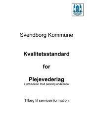 08.08 Bilag Kvalitetsstandard for plejevederlag - Svendborg ...