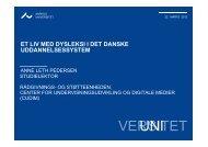 Et liv med dysleksi i det danske uddannelsessystem - ORD 12