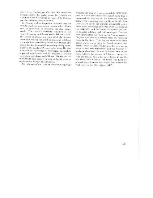 Orlogsdampskibet GANGES, s. 90-103 - Handels- og Søfartsmuseet