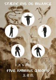 Stærk ryg og balance Five Animals Qigong