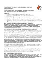 20.10.2011: Referat fra bestyrelsesmøde i ledersektionen (