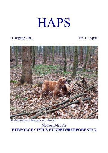 Haps 2012-1 - DcH-Herfølge
