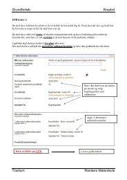 Opgavesamling kreativt grundforløb - Tradium