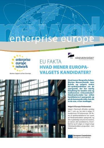 enterprise europe - Håndværksrådet