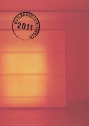 Katalog 2011 - Østlandsutstillingen