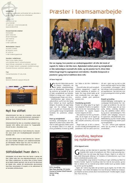 Januar - Roskilde Stift