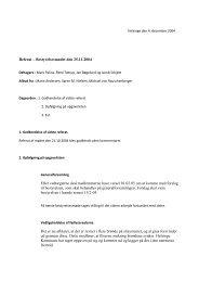 Referat 4/12-2004 - Velkommen til Grundejerforeningen Birkely