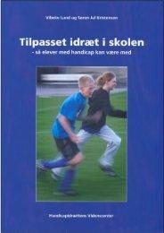 Tilpasset idræt i skolen - Handicapidrættens Videnscenter