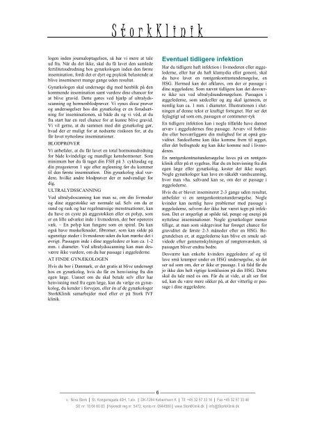 Information om insemination - Stork Klinik
