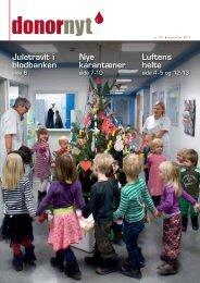 liv - Bloddonorerne i Danmark