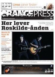 Linse joiner festen - Roskilde Festival