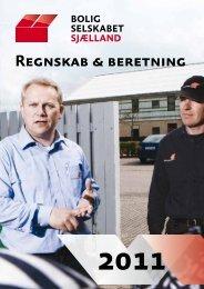 Regnskab og årsberetning 2011 - Boligselskabet Sjælland