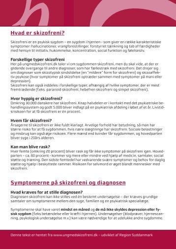 Hvad er skizofreni? - Ung med skizofreni