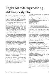 Regler for møder - AKB Stjernen